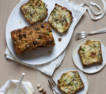 Cake courgettes chèvre