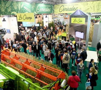 Salon International de l'Agriculture 2020 - Le stand des céréales